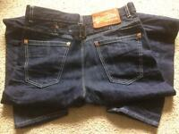 Superdry jeans (pre-owned but never worn) 30w x 32l
