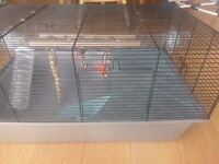 Syrian hamster cage, accessorise, playpen, food and more