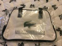 Lacoste - eau de Lacoste fragrance over night bag BRAND NEW!!