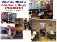Cafe shop for sell in Marple
