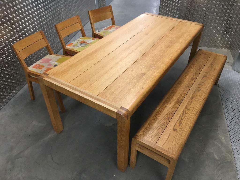 Habitat Radius Large Kitchen Dining Room Table Chair Set Laura Ashley John Lewis Loaf Oka Lombok