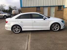 Audi A3 Saloon S-Line 2014 ***LADY Owner from new***
