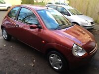 Ford Ka With 12 months Mot, full service history,one owner,low mileage