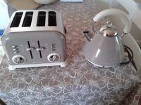 Absolute Bargain, Morphy Richards Kettle & Toaster Set for sale