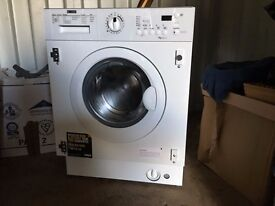 "Integrated washing machine, Zanussi, two months old, still under guarantee, in ""like new"" condition"