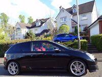 HIGHLY SOUGHT AFTER (2006) HONDA Civic Type-R i-VTEC PREMIER EDITION 1 OWNER ONLY 60K MILES 9 STAMPS