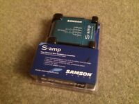Samson S-amp (4 way headphone amplifier)