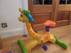 Vtech bouncy and ride Giraffe