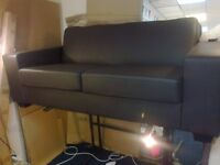 Faux Leather Sofa 3 seater NEW NEW reduced to just £160 free delivery