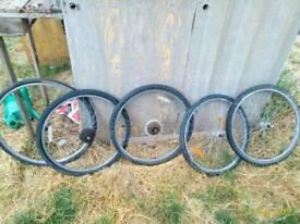Wheels bike 26 and 28