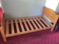 Single Pine Bed - M&S Good condition