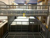 Single bed and double bunk bed #26452 £75