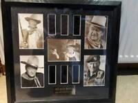 Limited edition John Wayne original filmcells