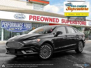 2017 Ford Fusion ***AWD, leather, NAV, sunroof***