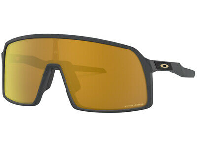 New Oakley SUTRO 9406-05 Matte Carbon Frame/ Prizm 24K Sole Gold Sunglasses