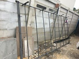 Galvanised steel roof rack great condition, previously used for ford transit, easy to fit.