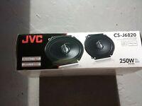 jvc car speakers set of four 5x7