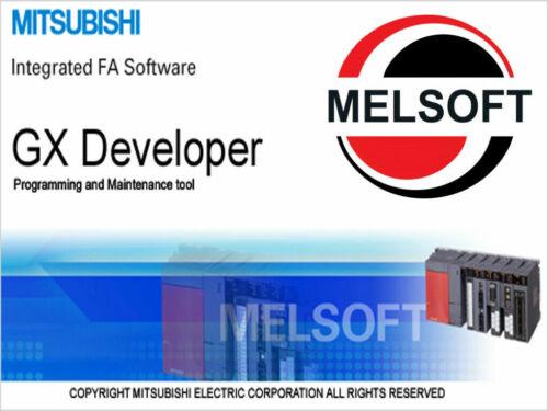 GX-DEV Works PLC Melsoft Programming Software Melsec KEY Full v8.90, FX, A1 & Q