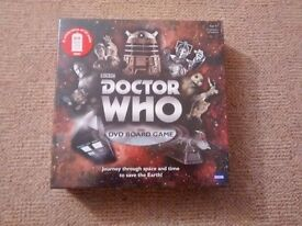 Doctor Who DVD Board Game - New - Sealed