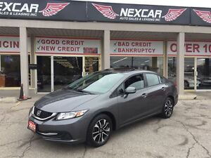 2013 Honda Civic EX AUT0 A/C SUNROOF BACK UP CAMERA 51K