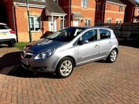 VAUXHALL CORSA DESIGN, BLACK LEATHER INTERIOR, MOT 12 MONTHS, FULL SERVICE HISTORY, HPI CLEAR