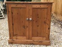 Antique pine cupboard