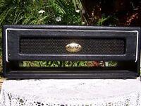 Empty guitar Amp head case