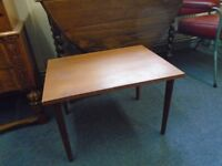 small solid wood occasional table
