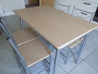 Dining Table with 4 chairs, computer table