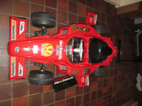 Childrens electric Ferrari