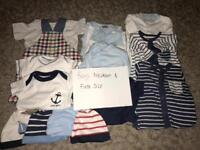 Boys clothes mixed newborn and first size