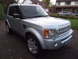 2009.58. LAND ROVER DISCOVERY 3 HSE. 2.7 TDV6 AUTO. 7 SEATS. HEATED LEATHER. SAT NAV. SUNROOFS.