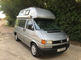 VW T4 CALIFORNIA CAMPER BI FUEL PX WELCOME
