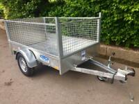 Car trailer 6x4 dale Kane single axle car trailer