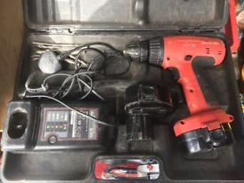Site Makita SMB600 14.4v Cordless Drill With 2 Battery & Fast Charger