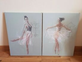Ballerina canvas art paintings
