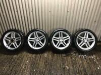 "Genuine 17"" Mercedes Benz AMG Sport Alloy Wheels - Will fit C Class, E Class"
