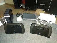 5 Wireless Routers / Modems Job Lot