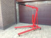 Engine Hoist Crane 2 ton Foldable