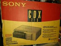 Sony CDX-715 CD changer for a car