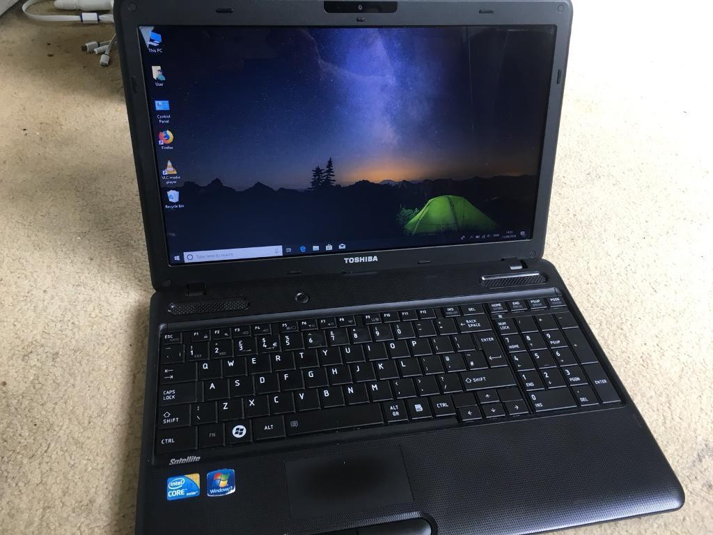 "Toshiba Laptop   Intel Core i3   6GB Ram   640GB Hdd   Windows 10 Pro    15 6""   in Ilford, London   Gumtree"