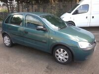 2003 Vauxhall Corsa 1.7 12 Months Mot Low mileage bargain!!!
