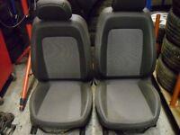 Corsa D design 5 door half leather front seats