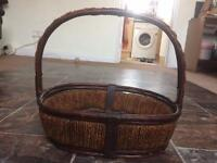 Beautiful hand made traditional basket