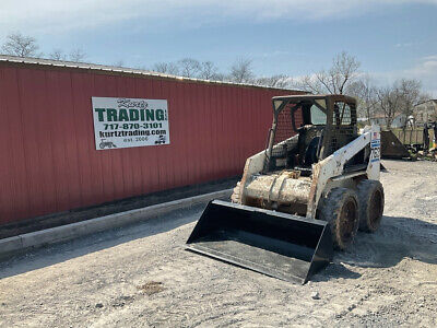 2002 Bobcat 763g Skid Steer Loader W Kubota Engine Cheap