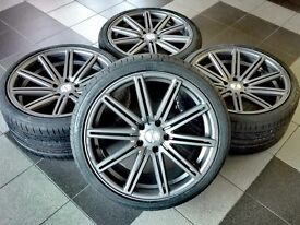 New 20 inch Vossen style wheels set for BMW F10 F12 F13 F06 F30 E60 rims + tyres