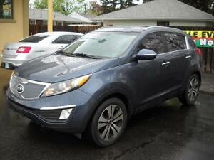 2013 KIA SPORTAGE EX - BLUETOOTH, BACKUP SENSOR, SATELLITE RADIO