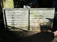 Overlap Fence panels x 7