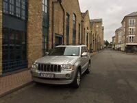 Jeep Grand Cherokee 3.0 crd Overland auto silver not LHD