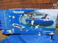 Inflatable boat/Dinghy £10 sevylor inflatable boat caravell kk65